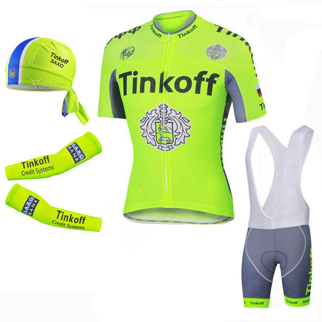 ec913fdd Ciclismo 2018 Fluo Green Short Sleeve Cycling Jersey/Quick Dry Cycling  Clothing Sets Summer Bike Shoe Cover/Arm Warmer/Scarf Kit-in Cycling Sets  from ...
