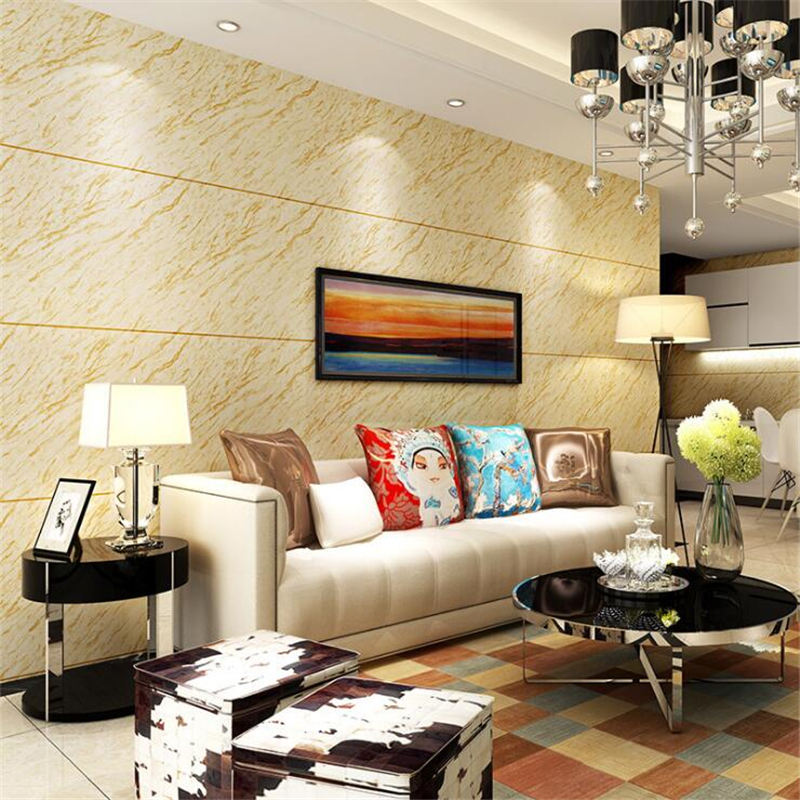 Beibehang Thickening 3D simulation marble wallpaper rock texture ...