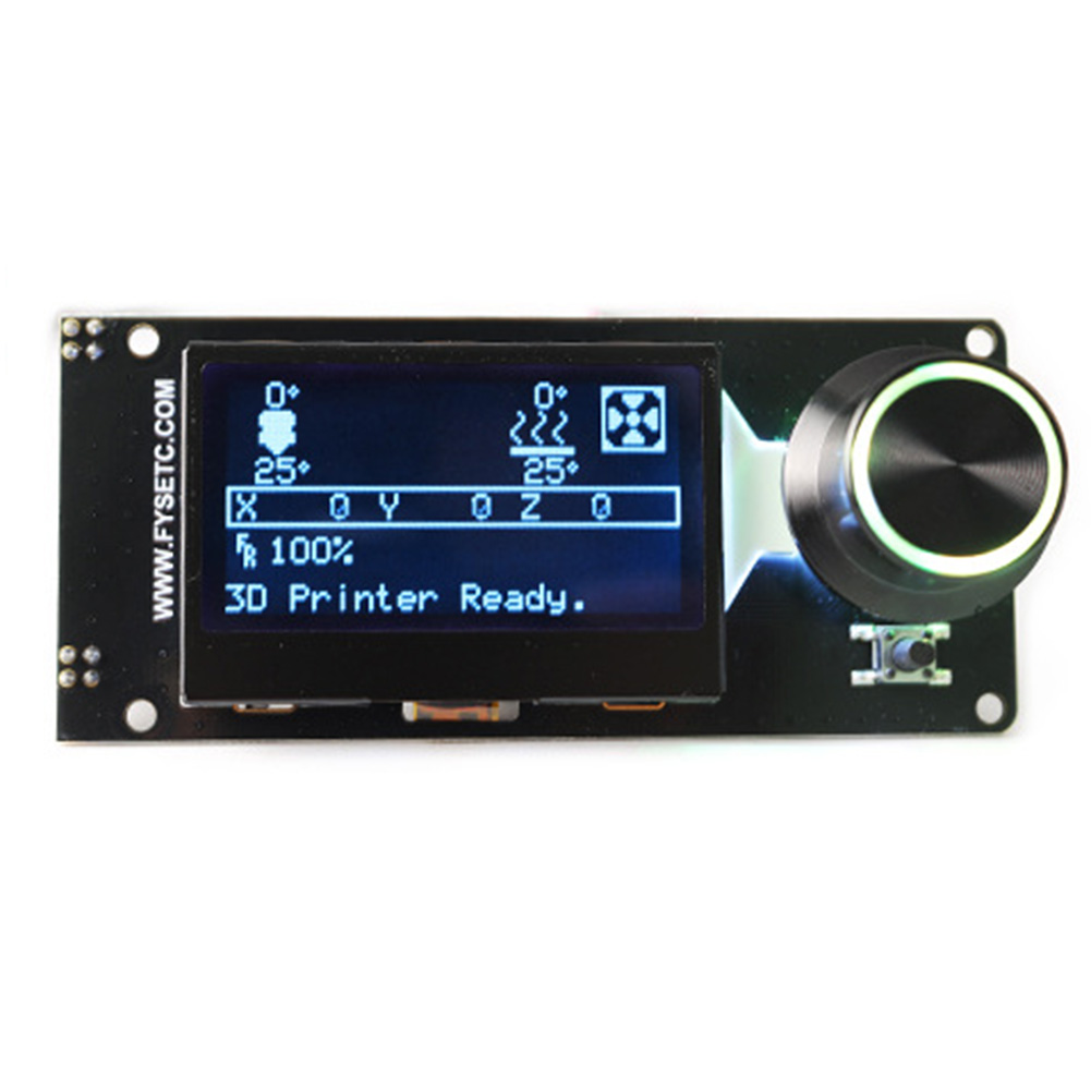 12864 Full Graphic Led Backlight 3d Printer Accessories Display Panel Professional Replacement Smart Parts Lcd Controller To Adopt Advanced Technology