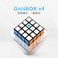 GAN 460 M 4x4x4 Magnetic 4x4 Speed Cube Black Color 60 Gan460M Magic Cube Puzzle Gan460 M Professional Educational Toys for kids