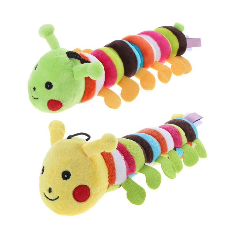 Funny Dog Toy Sound Squeaker For Dog Longworm Shape Durable Dogs Chew Toy Dolls Animall Training Products