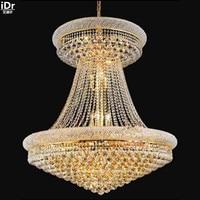 Avizeler Metal asılı lamba chic odası lambaları yatak odası lambaları çalışma salonu büyük kristal lamba 90 cm W x 114 cm H Avizeler Işıklar ve Aydınlatma -