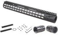 Vector Optics .308 Slim KeyMod 15'' Inch Free Float Handguard Picatinny Rail Mount Scope Bracket fit AR10 AR 10 308