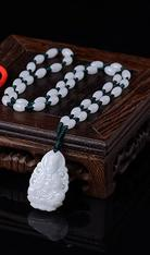 Ultra-low price natural Burmese stone pendant necklace carved Buddha amulet pendant exquisite men and women JADES jewelry