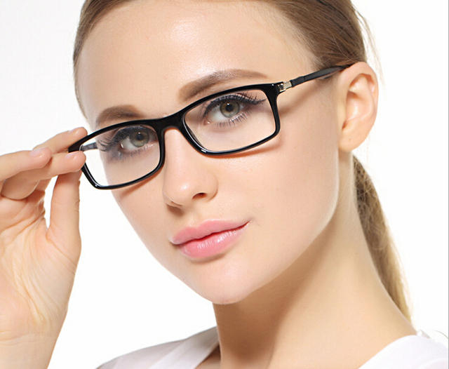 b52185f9b9 rectangle eyewear eyeglasses women female new fashion eyes vision care  glasses new fashion high quality