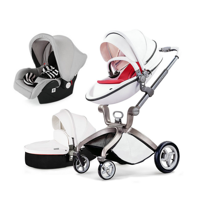Lightweight baby trolley cork imported baby cart Baby stroller 3 in 1 s Baby car seatchair stroller folding stroller travel luxury baby stroller with carrycot pram set 2 in 1 baby stroller trolley baby car child folding cart bassinet light