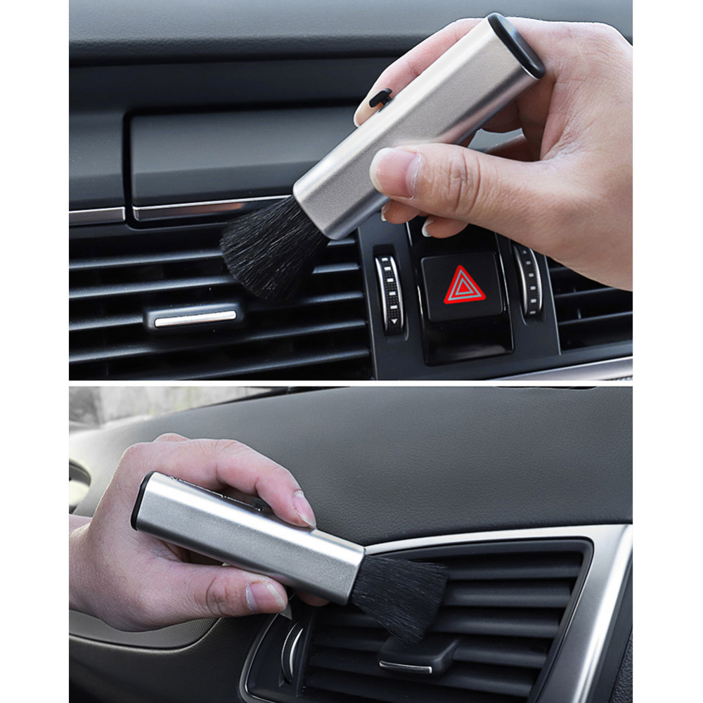For Audi A3 A4 B6 B8 B7 B5 B9 A6 C5 C6 C7 4f A5 Q5 Q7 8P 8L 8V TT 80 100 A8 A7 A1 Q3 S3 S4 R8 RS3 RS5 S Line Car Cleaning Brush