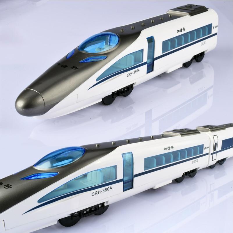 CRH 380A RC Trein Speelgoed Elektrische Express Afstandsbediening Trein China Railway High speed Treinen Model RC Speelgoed voor Kinderen geschenken-in RC Treinen van Speelgoed & Hobbies op  Groep 3