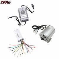 TDPRO 1800 Вт 48 В бесщеточный электродвигатель скорость контроллер зарядное устройство для скутера ATV Go Kart Minimoto велосипед Багги Велосипедный сп