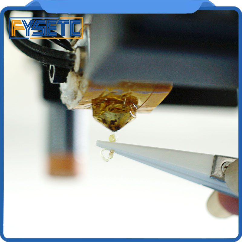 3D Printer Tools Stainless Steel Tweezers L 120mm Curved/Straight Port Tweezer Clean Out Nozzle Heating Melt Out Of Filament
