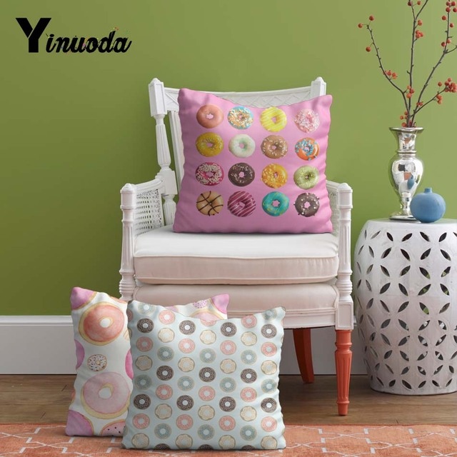 Yanuoda Extended 24 24 inch Cushion cover dessert People
