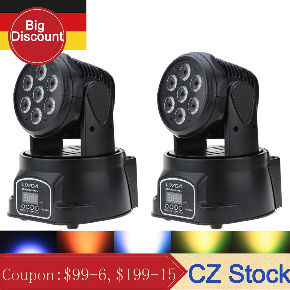 Disco Light DMX RGBW LED Stage Light Moving Head Beam Party Lights DMX 512 Led Dj