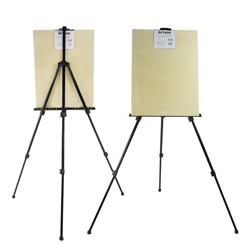 Portable Aluminum Sketch Display Tripod Easel Stand Painting easel For Artist Art Tools Folding EaselsPortable Aluminum Sketch Display Tripod Easel Stand Painting easel For Artist Art Tools Folding Easels
