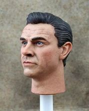 1/6 James Bond 007 Sean Connery Head Sculpt Daniel Head Model for 12in action figure toys цена и фото
