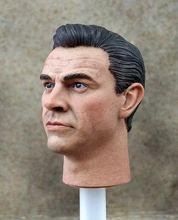 1/6 James Bond 007 Sean Connery Head Sculpt Daniel Model for 12in action figure toys