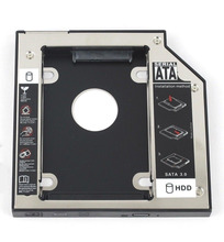 WZSM Новый 9,5 мм SATA 2nd жесткий диск SSD HDD Caddy для Dell Precision M4800 M6800 M4600 M6400