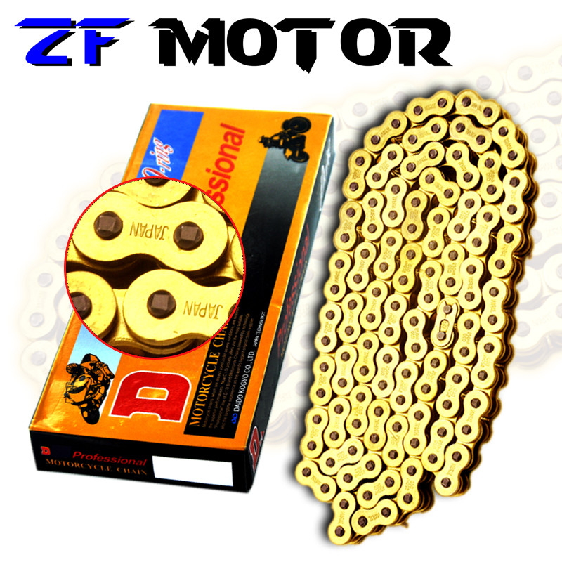 Facotry Selling High Quality Motorcycle Chain Sets For 428 chain DID O Ring 136 Link 520