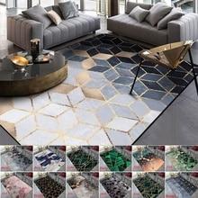 Fashion Modern Area Rugs Geometric Pattern Carpet Nordic Simple Living Room Coffee Table Room Bedroom Floor Rug Mat