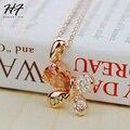 N211 Mariposa Amor Collar K Oro Pated Austríaco Elementos Cristalinos de LA SWA Wholesale