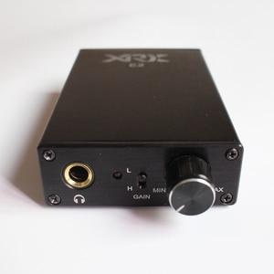 XRK E2 Hifi Desktop Headphone Amplifier & Earphone AMP Stereo Headset Amplifier with TPA6120