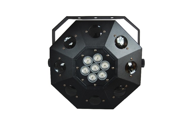 Eyourlife Free Shipping 2015 New Led Dancing Floor Light 120W RGBW Moving Head Stage Lighting DJ DMX Disco Laser Projector Light