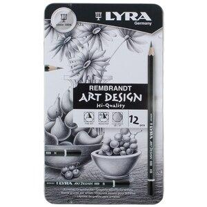 Image 1 - LYRA Skizze Bleistift Zeichnung Design Kunst 4H 6B Zinn Box Set