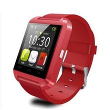 Silicone Watch Bracelet Bluetooth U8 Smartwatch Passed Ce Rosh Cheap Price  U8 Bluetooth Smart Digital Wrist