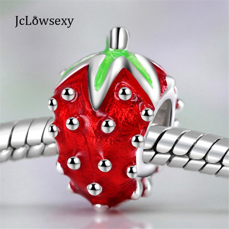 charm pandora fraise