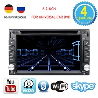 Quad Core car dvd 2 Din Android 8.0 Fit NISSAN QASHQAI Tiida Car Audio Stereo Radio GPS TV 3G WiFi dvd automotivo Universal DDR3