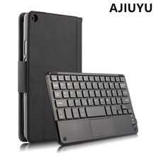 "For Huawei MediaPad T3 8.0 Wireless Bluetooth Keyboard Case Cover T3 8 "" Leather Protective Protector KOB-L09 KOB-W09 Tablet PC"