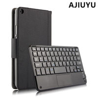 For Huawei MediaPad T3 8.0 Wireless Bluetooth Keyboard Case Cover T3 8 Leather Protective Protector KOB L09 KOB W09 Tablet PC