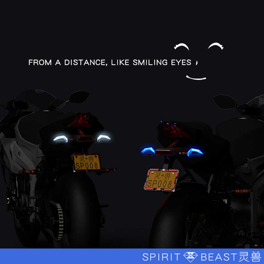 Detail Feedback Questions About Spirit Beast Flashing Motorcycle Led