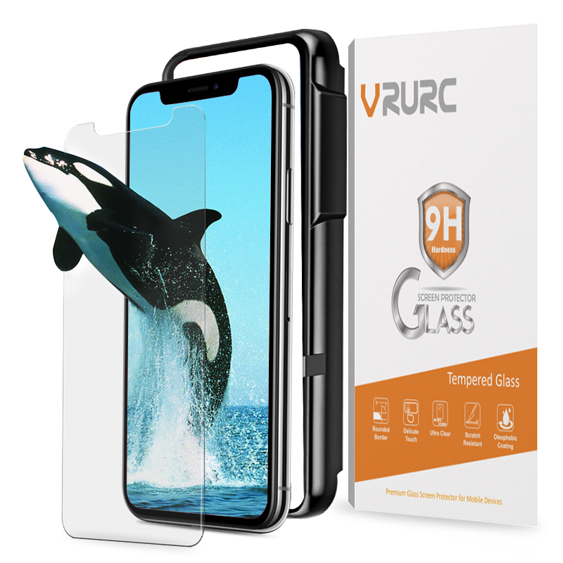 vrurc-triple-strength-9h-tempered-glass-for-iphone-x-glass-screen-protector-with-free-fontbapplicato