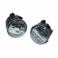2PCS For NISSAN PATROL 3 III Y62 Closed Off Road Vehicle 2010 2015 Front Fumper LED