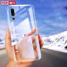 купить Case for Meizu 16S Cover meizu 16s Soft Silicon Clear Back Tpu Protective Coque Transparent Ultra Thin 6.2 meizu 16s Case Matte дешево