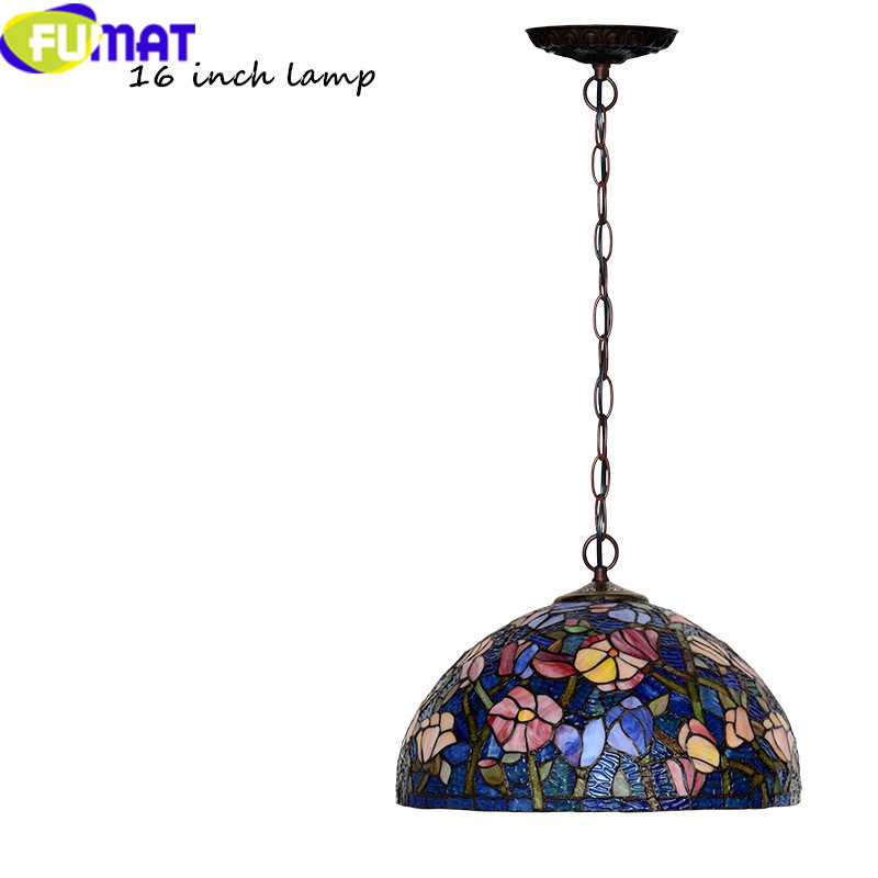 16 INCH Tiffany bombax Stained Glass Pendant Lamps