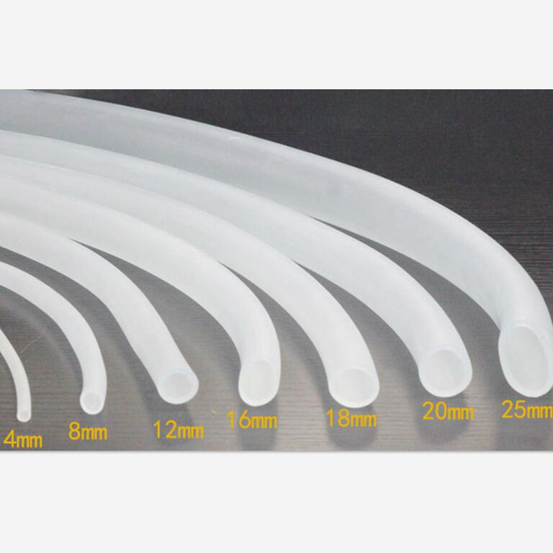 Silicone Hose / food grade transparent pipe / tank oxygen tube / hose rubber tube tasteless tendon