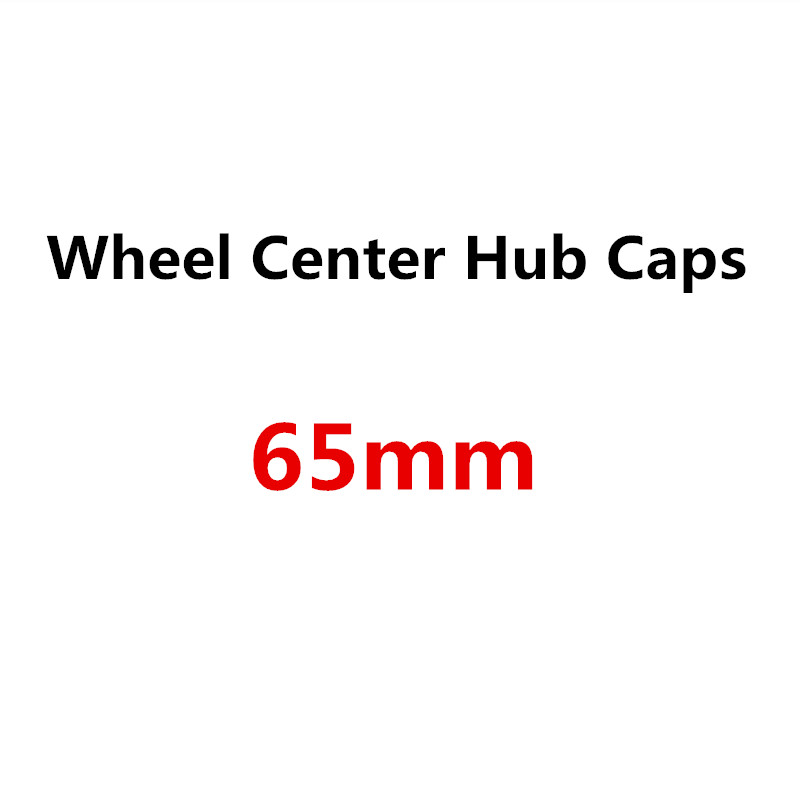 4PCS 65MM For <font><b>VW</b></font> Passat B5 B6 B7 Golf 3 4 5 6 7 MK5 MK4 Scirocco Beetle <font><b>T4</b></font> T5 Touran Tiguan Polo Car Wheel Center Cover Hub Cap image