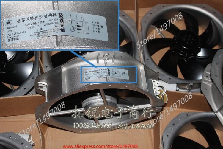 Free Shipping For PAPST W2E250-HJ32-10 AC 115V 175W 280x280x80mm Server Square fan
