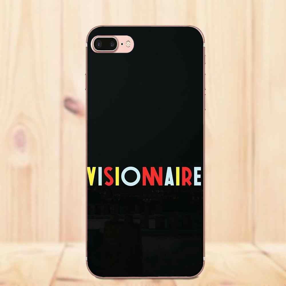 Maerknon Bigflo ve Yağ Apple iPhone 4 4 S 5 5 S 5C 5 S SE 6 6 S 7 8 artı X Yumuşak Silikon TPU Şeffaf Kapak Kılıfları
