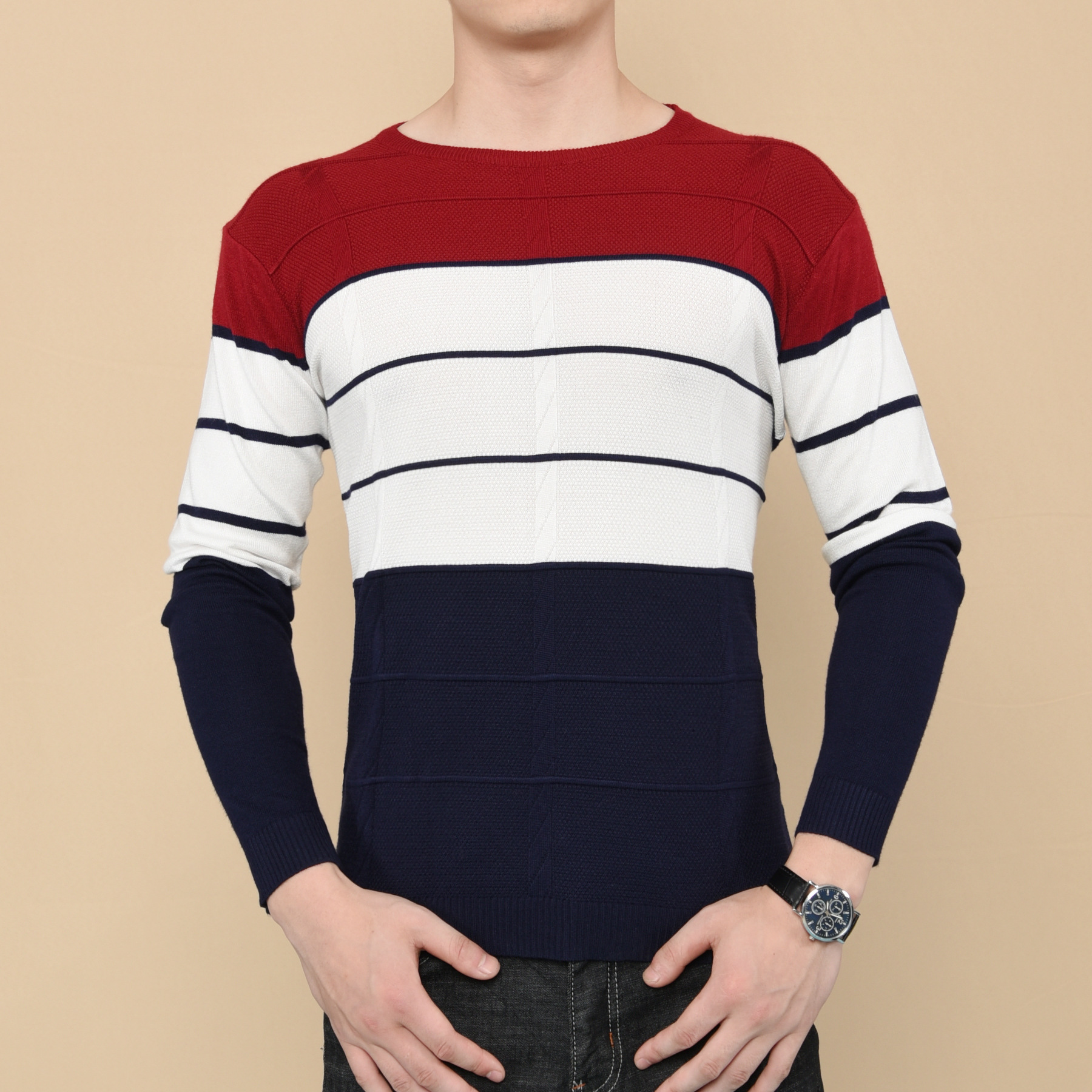 Cheap wholesale 2017 new Autumn Winter Hot selling men fashion casual warm nice Sweater X10-171020Z
