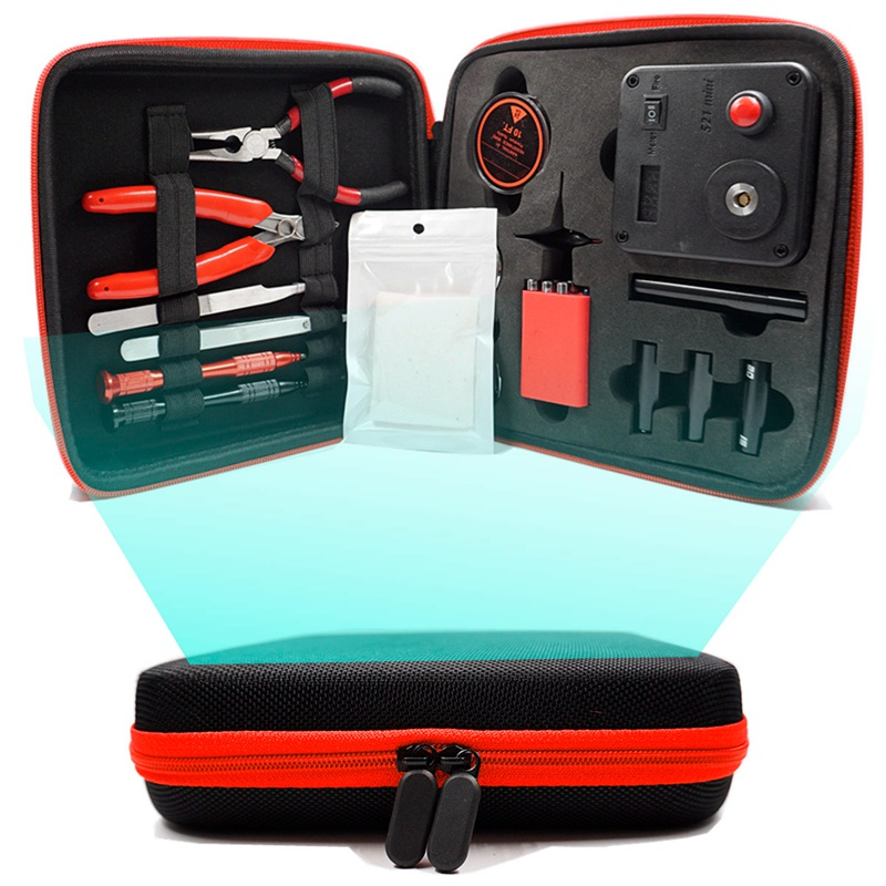 Update Coil Master V3 DIY Kit All-in-One CoilMaster V3+ Electronic Cigarette RDA Atomizer Coil Tool Bag Accessories Vape Vaper