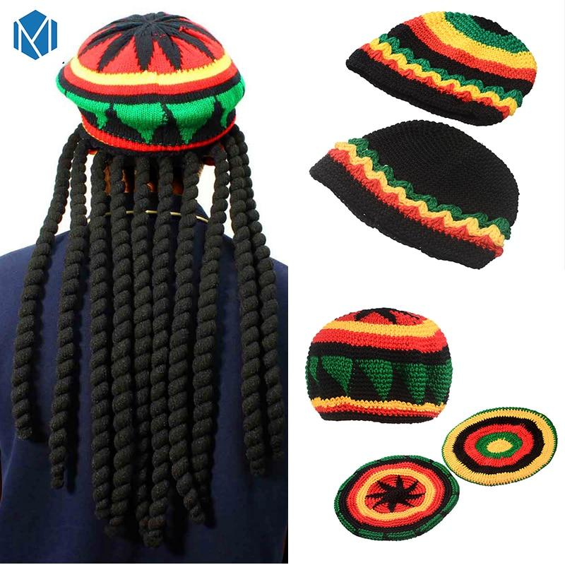 100/% Acrylic Acid Mas Beanie Hat Ruin Missouri State Flag Fashion Knitting Hat for Men Women