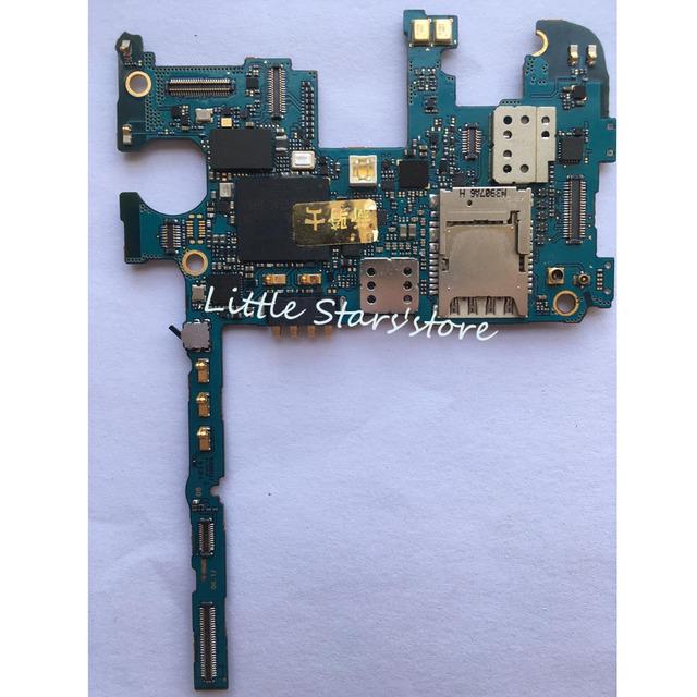 100% placa principal original para samsung n9005 galaxy note 3 n9005 32 gb versión europea desbloqueado placa lógica de trabajo