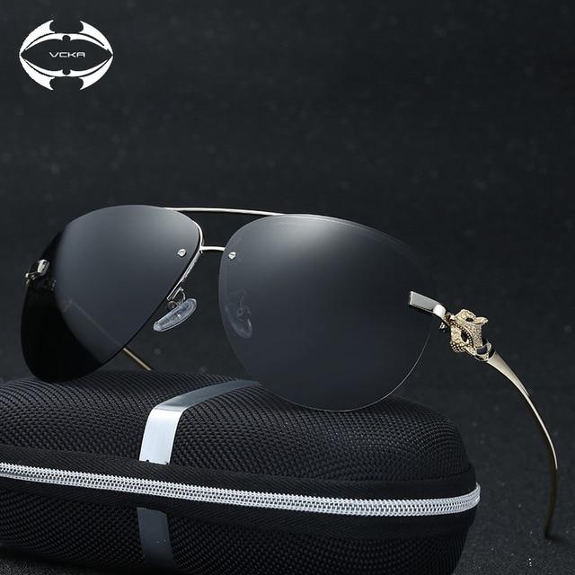 VCKA Femmes lunettes de Soleil 2017 Miroir Conduite Hommes Marque De Luxe  lunettes de Soleil Points 0ecff776b74a