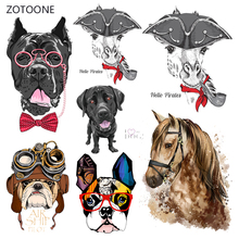ZOTOONE Stripes Iron on Transfer Patches Clothing Diy Horse Patch Heat for Clothes Decoration Stickers Accessories G