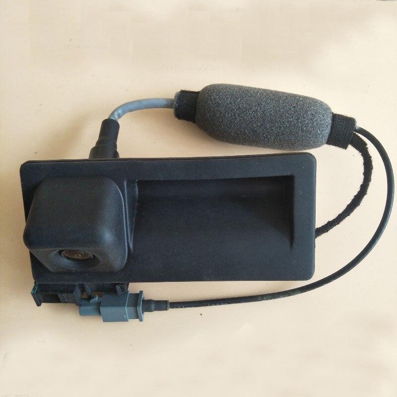 HighLine AV Rear Camera View Reversing For  09-12 A3 A4 A5 A6 A7 Q5 S4 S5 S6 5N0 827 566 AA rns510 rcd510 car rgb reversing video camera for vw tiguan a4 a7 s6 q5 a6 a5 2011 2012 5nd 827 566 c 5nd827566c