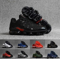 2018 Vapormax TN Plus BE TRUE Running Shoes Mens Womens Fashion Athletic Sport Sneakers Classic Outdoor Shoes Black White Size