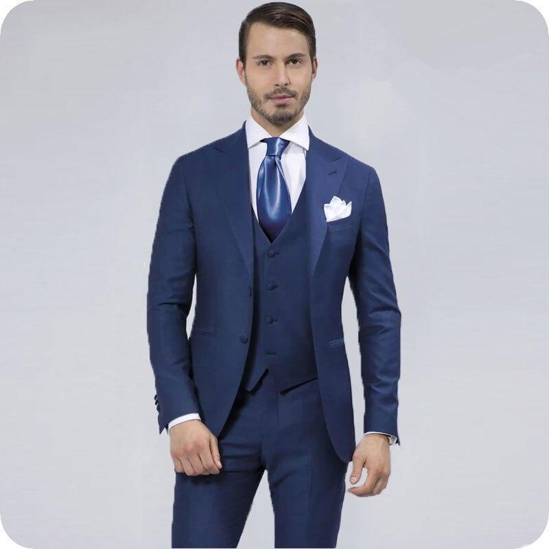 Groom Wedding Tuxedos Suits (18.1)