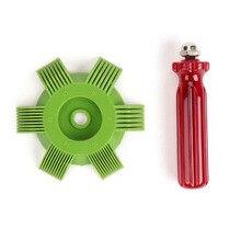 Горячая Распродажа! Универсальный пластиковый автомобильный конденсаторный испаритель с радиатором, выпрямитель, расческа для автоматической системы охлаждения